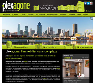 Site Internet de Plexagone