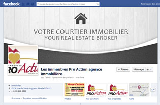 Facebook Les Immeubles Pro-Action inc.